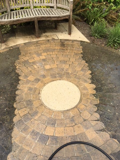Stonework cleaning