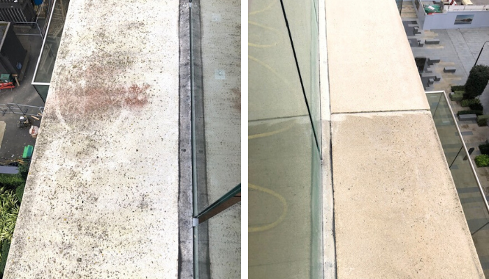 Token Cleaning - Coping Stone cleaning